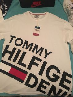 27f8ef3c24da10 Authentic Never Been Worn New Tommy Hilfiger Bold Logo T-Shirt  USA.Tommy.com