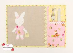 Looking for the perfect appliqué template to adorn your Easter projects or baby items? Introducing the Brilliant Bunnies. Terrific for any bunny