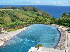 ocean views and pool