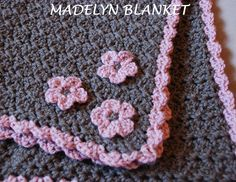 Love this Crocheted blanket