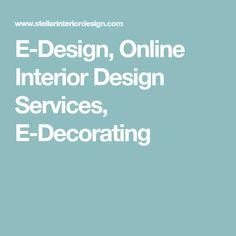 E-Design, Online Interior Design Services, E-Decorating