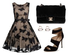 """""""Untitled #1"""" by anasousa-v ❤ liked on Polyvore featuring Carvela and Chanel"""