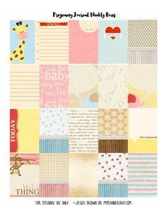 My Planner Envy: Prenatal Tracker Bundle of Stickers - Free Planner Printable