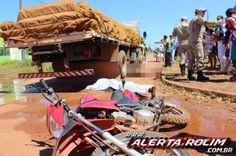 R a g news noticias : #Trânsito:Marido e mulher morrem esmagados por um caminhão em Rolim de Moura,