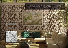 Square [ Сквуэ ] определяет пространство посредством ссылки в виртуальный мир пульсирующих точек. Глубокий профиль темы и горизонтальная и вертикальная характеристика ритмов, дают ощущение нежного мерцания и холодного математического порядка, который идеально подходит для современных аскетичных пространств. #3Dпанели #abstarctwall #стеновыепанели #design #интерьер #abstract #гипсовыепанели #wall #дизайн #3Dwall #декор #дизайнинтерьера #decor #3дстены #gypsum