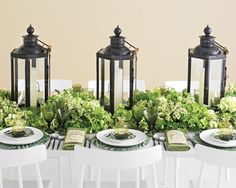 lantern centerpiece wedding