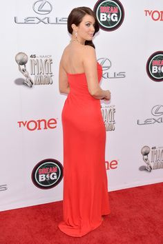 Bellamy Young Photos: 45th NAACP Image Awards Presented By TV One - Red Carpet