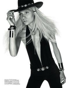 Rodeo Chic Editorial: Aline Weber For Vogue Turkey