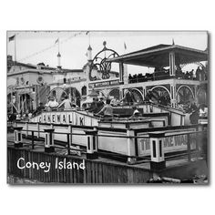 Shop Coney Island Cake Walk Postcard Vintage Picture created by paintboxes. Personalize it with photos & text or purchase as is! Coney Island Amusement Park, Best Amusement Parks, Karl Marx, Island Cake, Beach Town, Vintage Pictures, Vintage Postcards, Canvas Prints, York