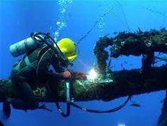 Deep sea welding