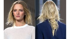 See the show-stopping hair and makeup that ruled the runway at New York Fashion Week Spring 2015: