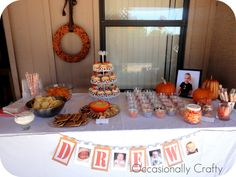 pumpkin themed birthday party | Pumpkin Party