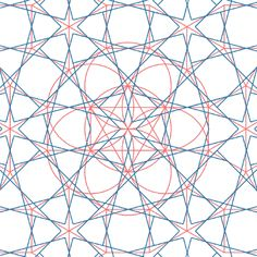 Sub-grid lines developed on the basic dodecagon