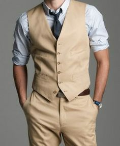 For the groom? Love the colors. Suspenders instead of belt.