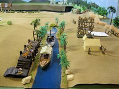 Ancient Egypt Nile River Project
