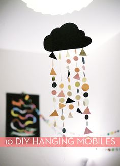 10 Do-It-Yourself Hanging Mobiles
