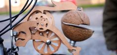 Trotify kit puts Monty Python horse coconuts on your bike. Nerdy and amazing!