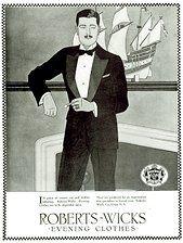 1920s men's evening clothes U.S.