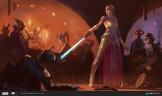 Star Wars Concept Artwork - Created by Pavel Goloviy Created for the ILM Star Wars Challenge, check out the full details here. Rpg Star Wars, Star Wars Jedi, Star Citizen, Tolkien, Kit Fisto, Edge Of The Empire, Star Wars Characters Pictures, Star Wars The Old, Star Wars Novels