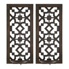 Warm up any space with the Set of 2 Boho Laser Cut Sconce by Stratton Home Decor. The dramatic black ornate laser cut pattern brings a bold look to any wall. Place LED candles on the handcrafted metal candle holders and enjoy the illumination. Wooden Wall Panels, Wood Panel Walls, Wooden Wall Art, Wooden Walls, Wood Paneling, Led Candles, Candle Sconces, Flameless Candles, Wall Sconces