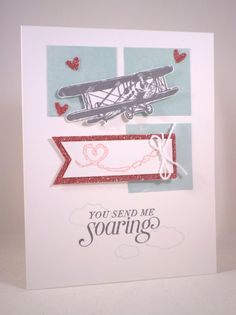 Love in the Sky by mandypandy - Cards and Paper Crafts at Splitcoaststampers