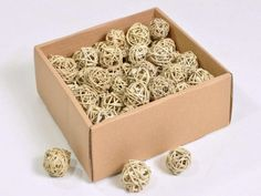 75 x Natural Brunch Ball Natural  5 x  6cm (2inch)   Christmas Decoration - Natu 100 % Natural  Brunch Balls   Box of 75 Pcs - Perfect for Christmas Decorations  3cm Diameter Paradise Crow  Natural Design and Interiors   https://nemb.ly/p/Sy8MwrMwvHz Published using Nembol