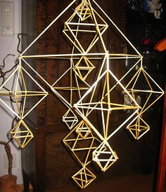 "finnish cristmas decoration "" Himmeli"""