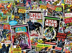 Star Wars Classic Comic Books Jigsaw Puzzle 1000 Pieces >>> For more information, visit image link.Note:It is affiliate link to Amazon.