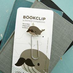 Whale Bookmark (bookclip)