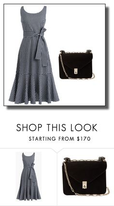 """""""Untitled #2"""" by dzemila-c ❤ liked on Polyvore featuring J.Crew and Valentino"""