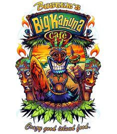 Local Restaurants - Busters Big Kahuna Cafe