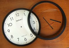 Time Flies Wall Clock > DIY Embroidery - Machine Embroidery Blog of Tips, Projects and Designs > Projects