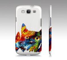 Cell Phone Case Cat 608 Digital art - Iphone 6/6s, 5/5s, Samsung Galaxy S5, S4…
