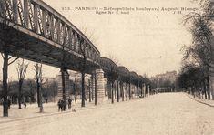 Le Métropolitain du Paris d'antan- La ligne n° 2 en surface, boulevard Auguste-Blanqui.