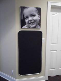 Oil Drip Pan Chalkboards!
