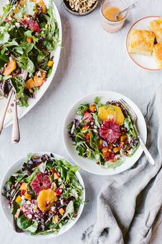 Citrusy Roasted Beet and Goat Cheese Salad