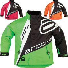 Arctiva Comp Insulated Youth Sled Snowboarding Snowmobile Jackets