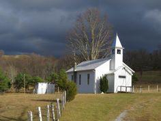 Chapel at Judy Gap, country church, chapel