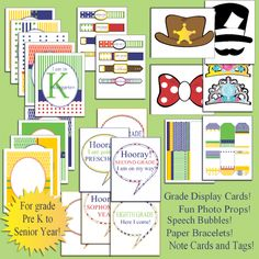 6 First Day of School Photo Props, Cards & Tags from Tip Junkie! {FREEBIE} - Tip Junkie
