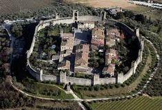 Veduta aerea del Castello