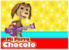 Kit imprimible candy bar Mi Perro Chocolo para eventos   Candy Bar Gratis Scooby Doo, Disney Characters, Fictional Characters, Lunch Box, Disney Princess, Poster, Shower, Ideas, Art
