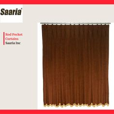 Pleated Curtains, Rod Pocket Curtains, Cheap Deals, Beautiful Curtains, Velvet, Color, Home Decor, Products, Ruffle Curtains
