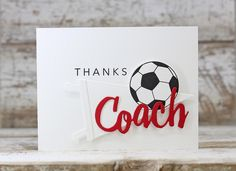 Thanks, Coach Card by Laurie Willison for Papertrey Ink (January 2016)