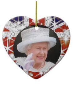 Queen Elizabeth Diamond Jubilee Union Jack ornament