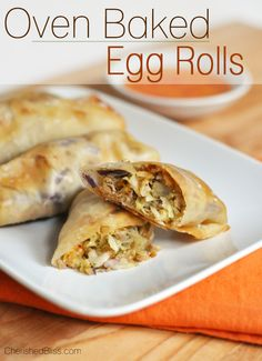 Pork egg roll recipes baked
