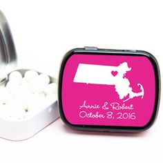State Love Personalized Mint Tins