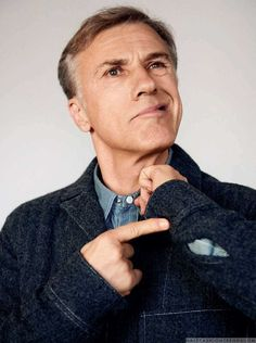 Male Fashion Trends: Christoph Waltz para Esquire España por Amar Daved