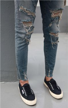 Ripped jeans / Death by Elocution