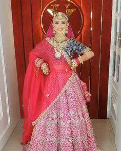 Indian Bridal Photos, Indian Bridal Outfits, Indian Bridal Fashion, Indian Fashion Dresses, Indian Bride Dresses, Bridal Hairstyle Indian Wedding, Indian Wedding Makeup, Bridal Pictures, Wedding Dresses For Girls