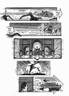 Film Sketchr: You'll Die for These EDGE OF TOMORROW Storyboards by David Allcock